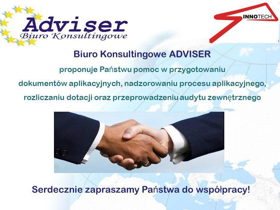 Serdecznie zapraszamy Państwa do współpracy!