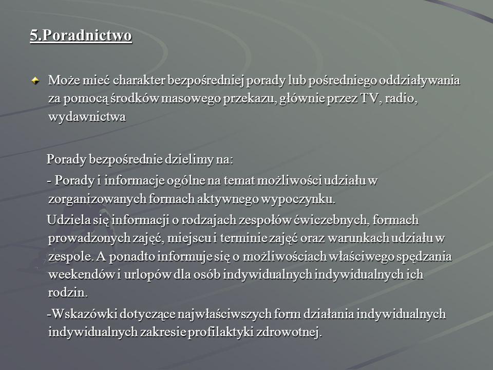 5.Poradnictwo