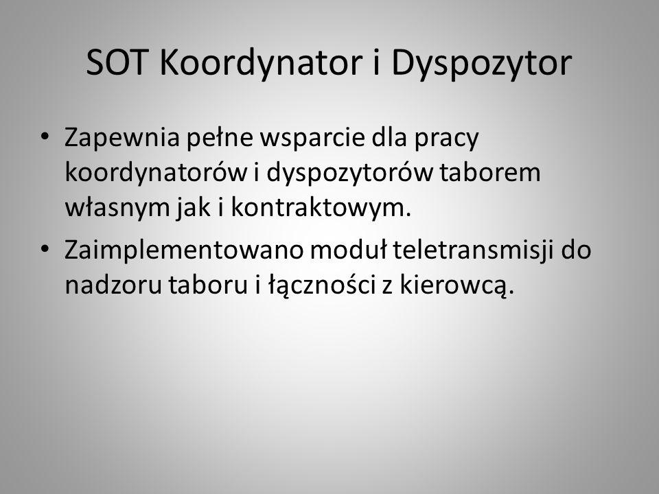 SOT Koordynator i Dyspozytor