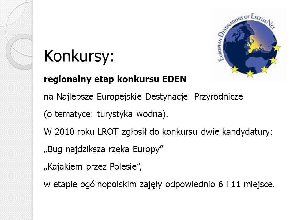 Konkursy: regionalny etap konkursu EDEN