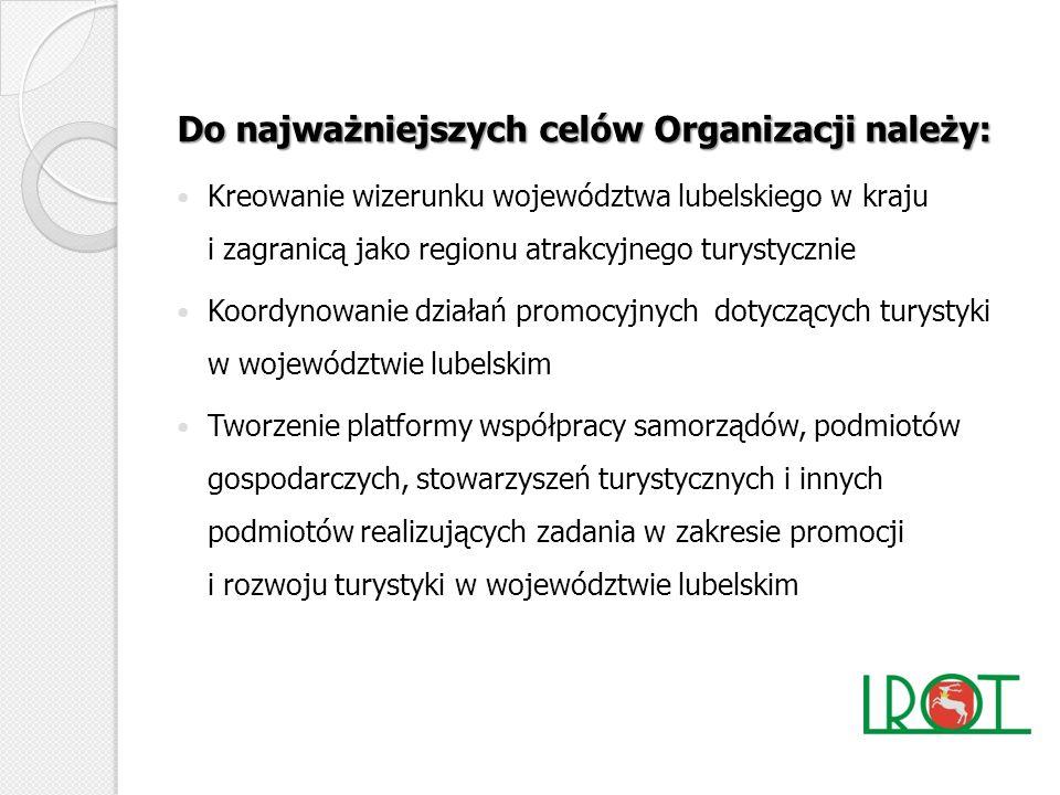 Do najważniejszych celów Organizacji należy: