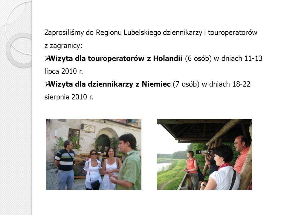Zaprosiliśmy do Regionu Lubelskiego dziennikarzy i touroperatorów z zagranicy: