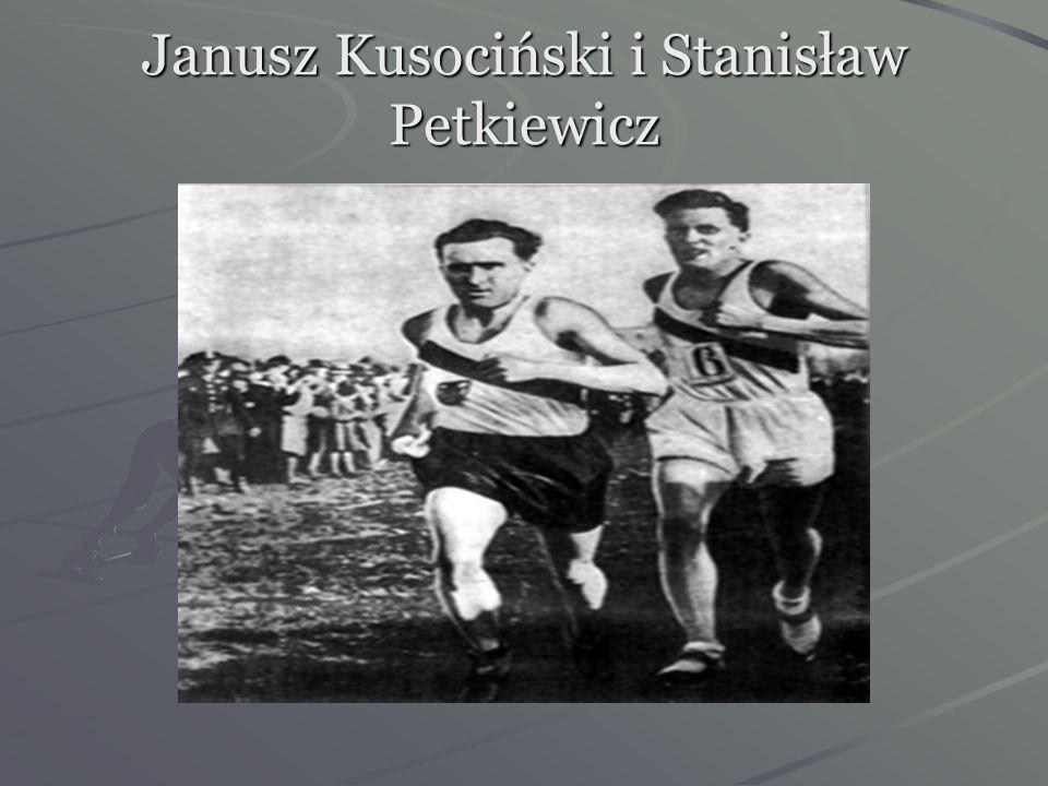 Janusz Kusociński i Stanisław Petkiewicz