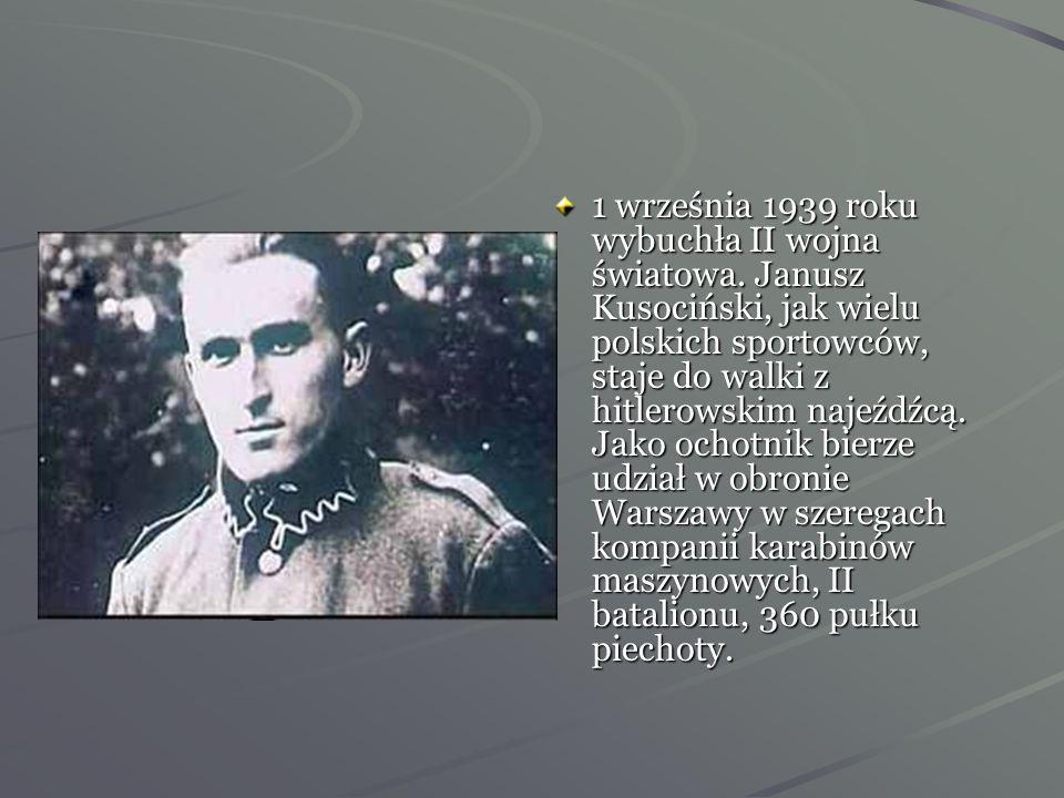 1 września 1939 roku wybuchła II wojna światowa