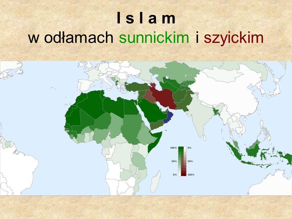 I s l a m w odłamach sunnickim i szyickim