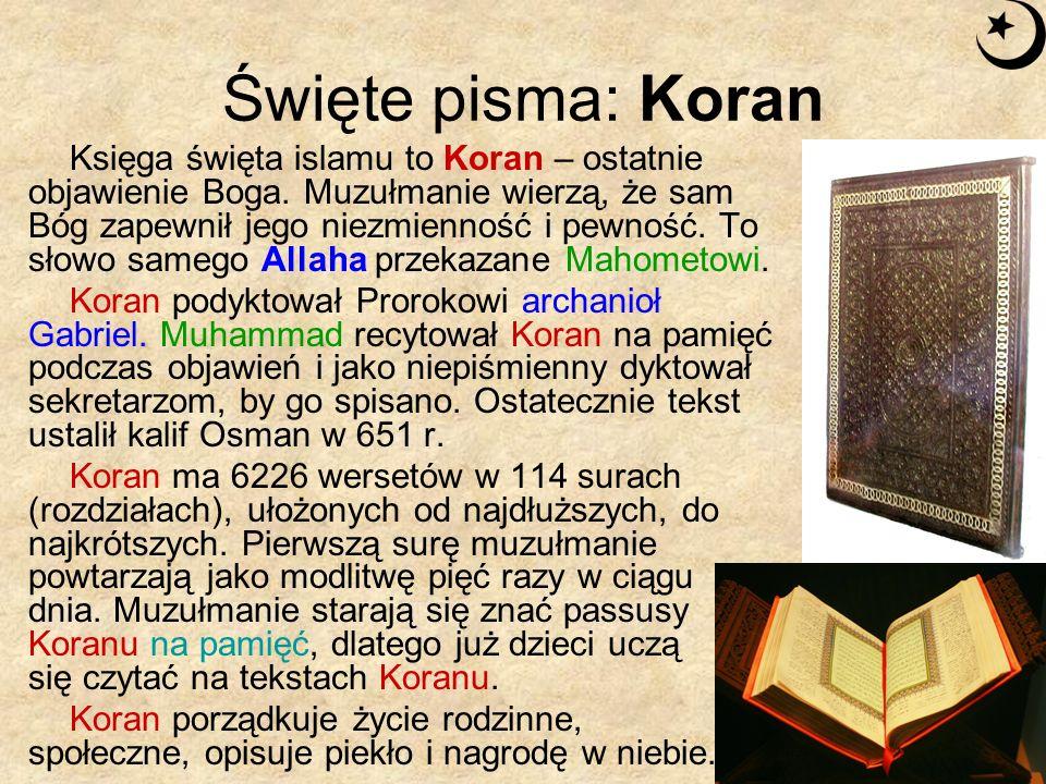 Święte pisma: Koran