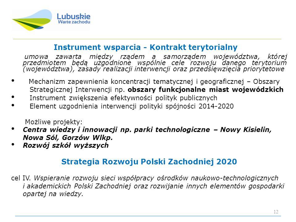 Strategia Rozwoju Polski Zachodniej 2020
