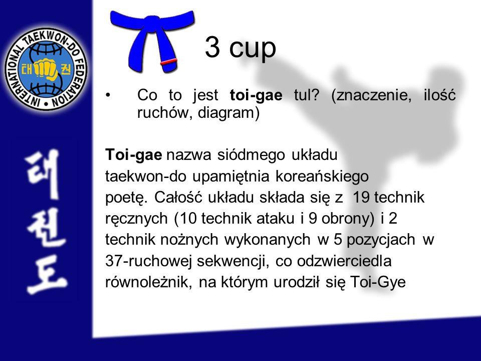3 cup Co to jest toi-gae tul (znaczenie, ilość ruchów, diagram)
