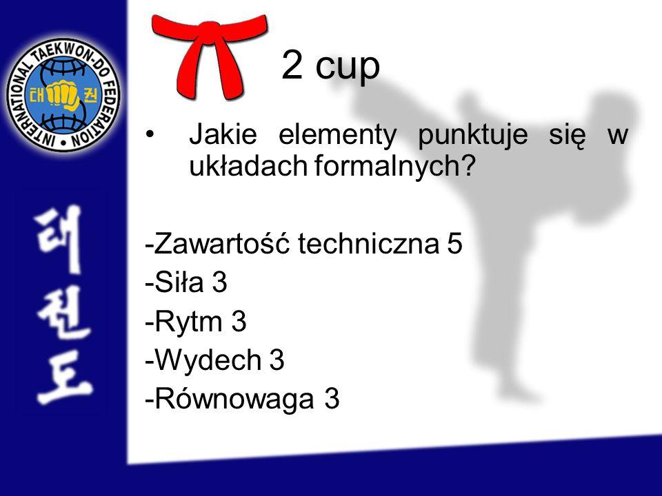 2 cup Jakie elementy punktuje się w układach formalnych