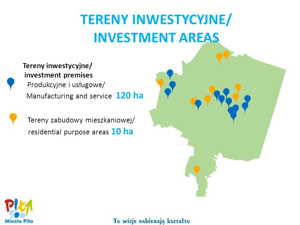 TERENY INWESTYCYJNE/ INVESTMENT AREAS
