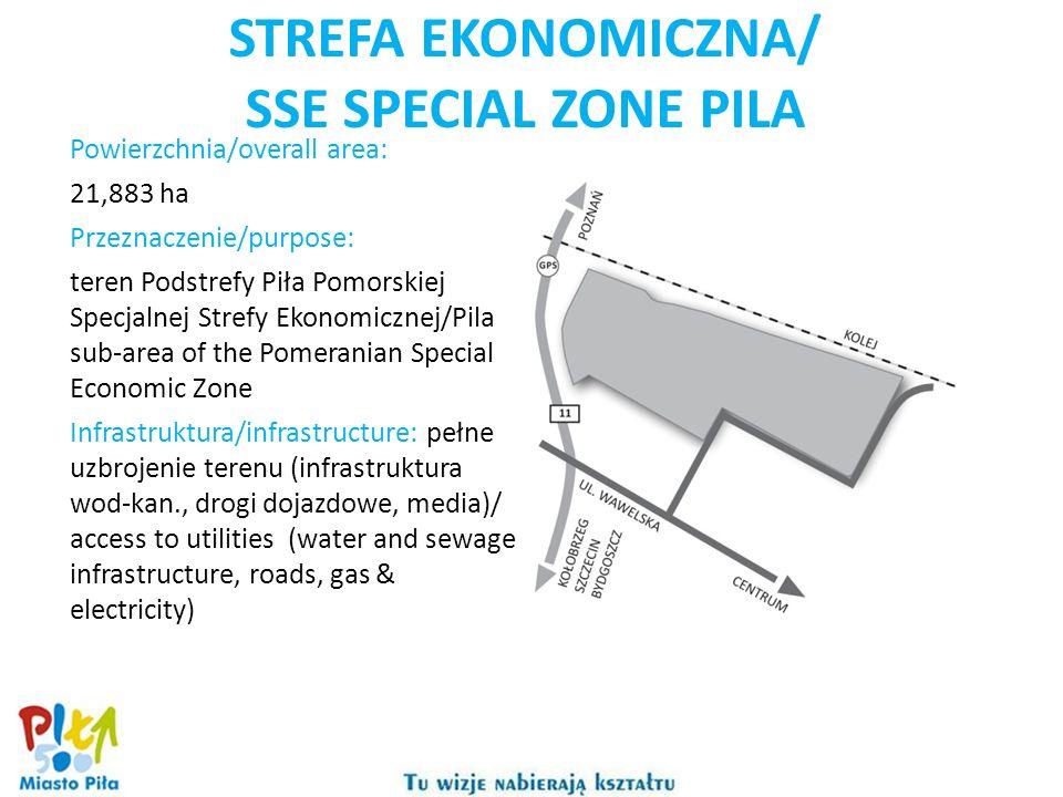 STREFA EKONOMICZNA/ SSE SPECIAL ZONE PILA