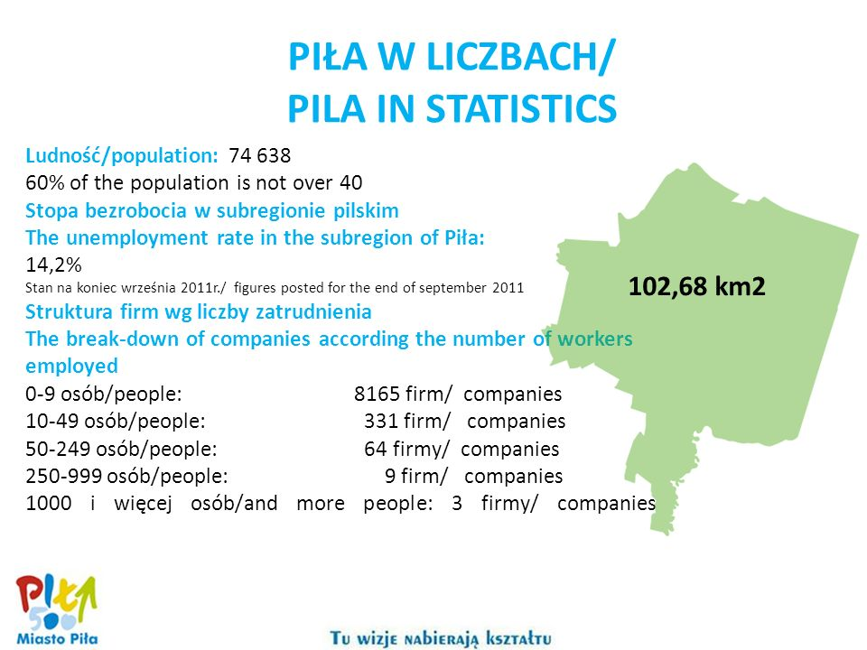 PIŁA W LICZBACH/ PILA IN STATISTICS