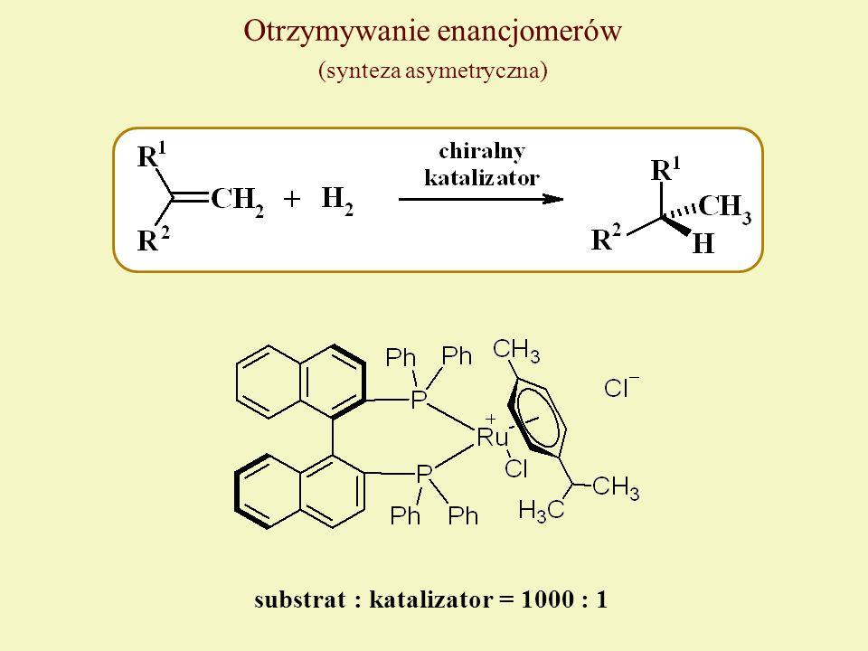 substrat : katalizator = 1000 : 1