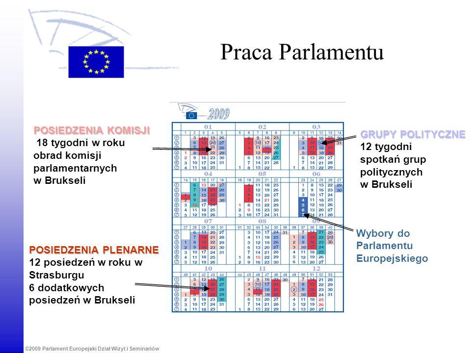Praca Parlamentu POSIEDZENIA KOMISJI GRUPY POLITYCZNE