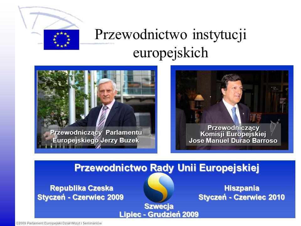 Przewodnictwo instytucji europejskich