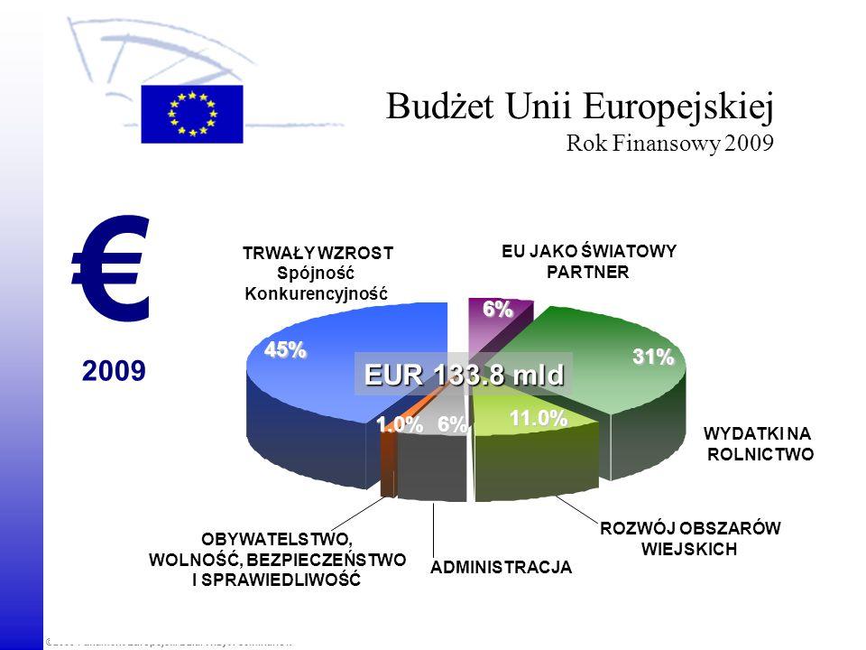 Budżet Unii Europejskiej Rok Finansowy 2009