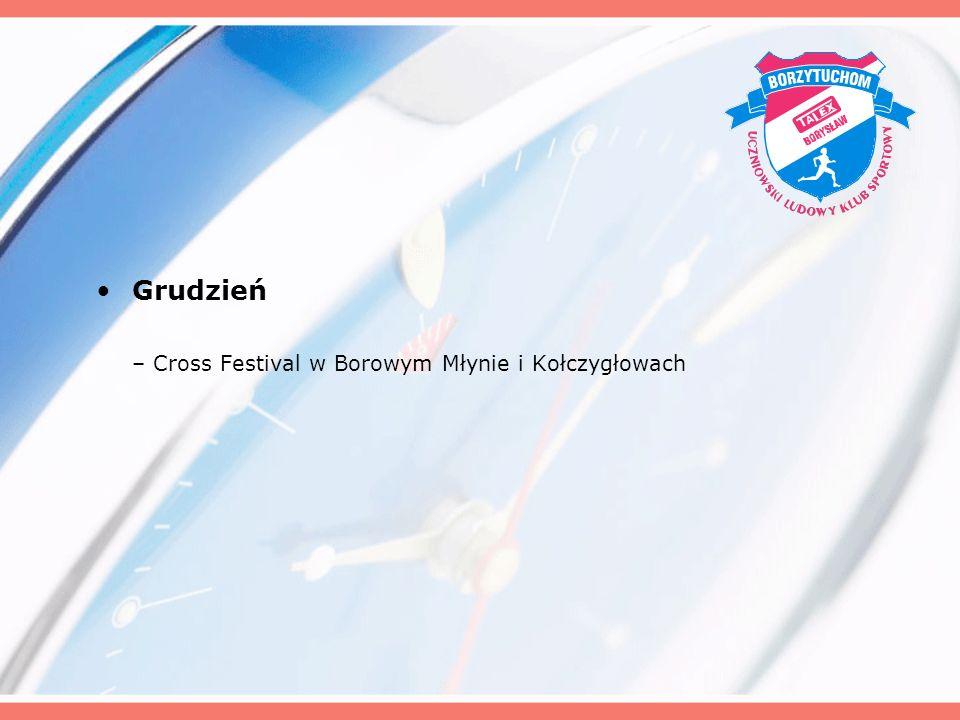Grudzień – Cross Festival w Borowym Młynie i Kołczygłowach