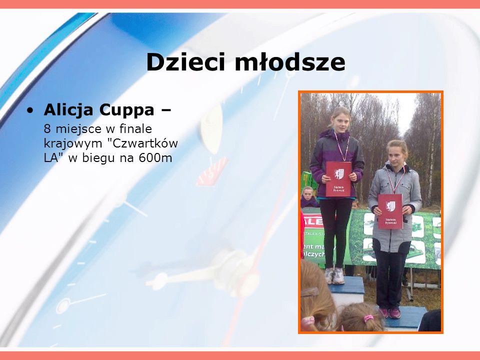 Dzieci młodsze Alicja Cuppa –