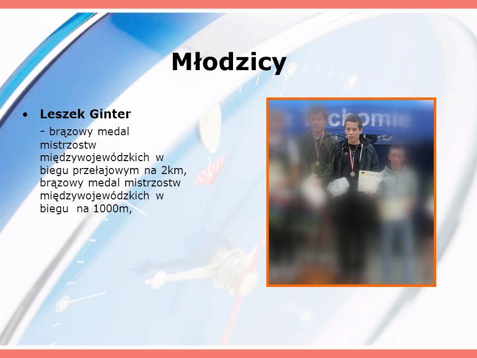 Młodzicy Leszek Ginter