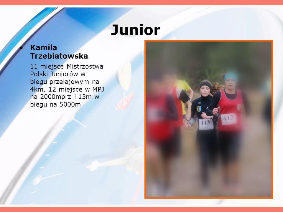 Junior Kamila Trzebiatowska