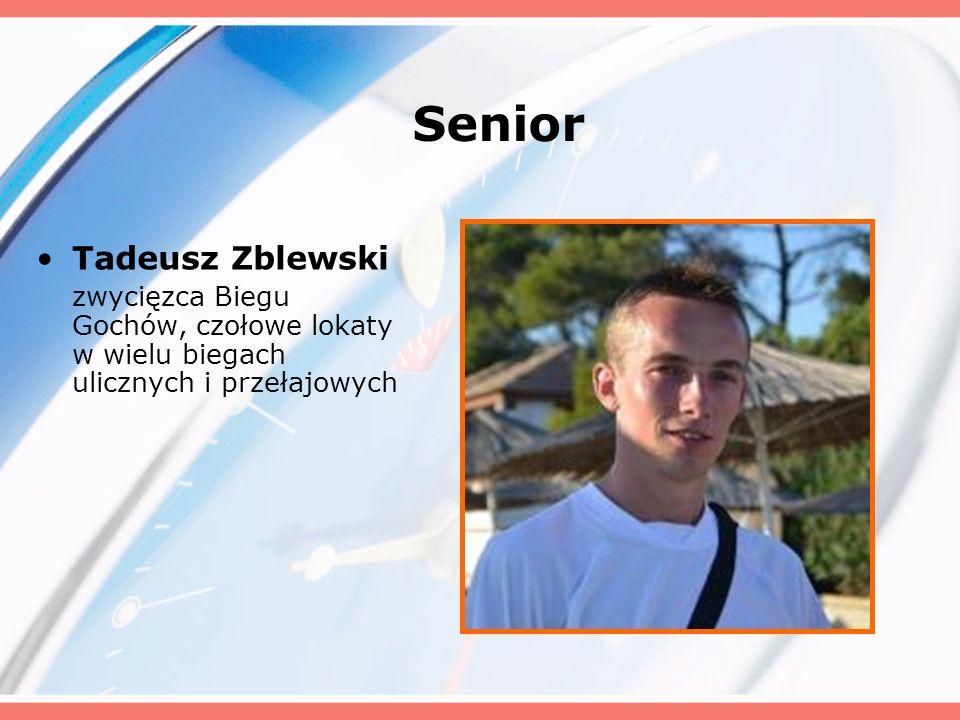 Senior Tadeusz Zblewski