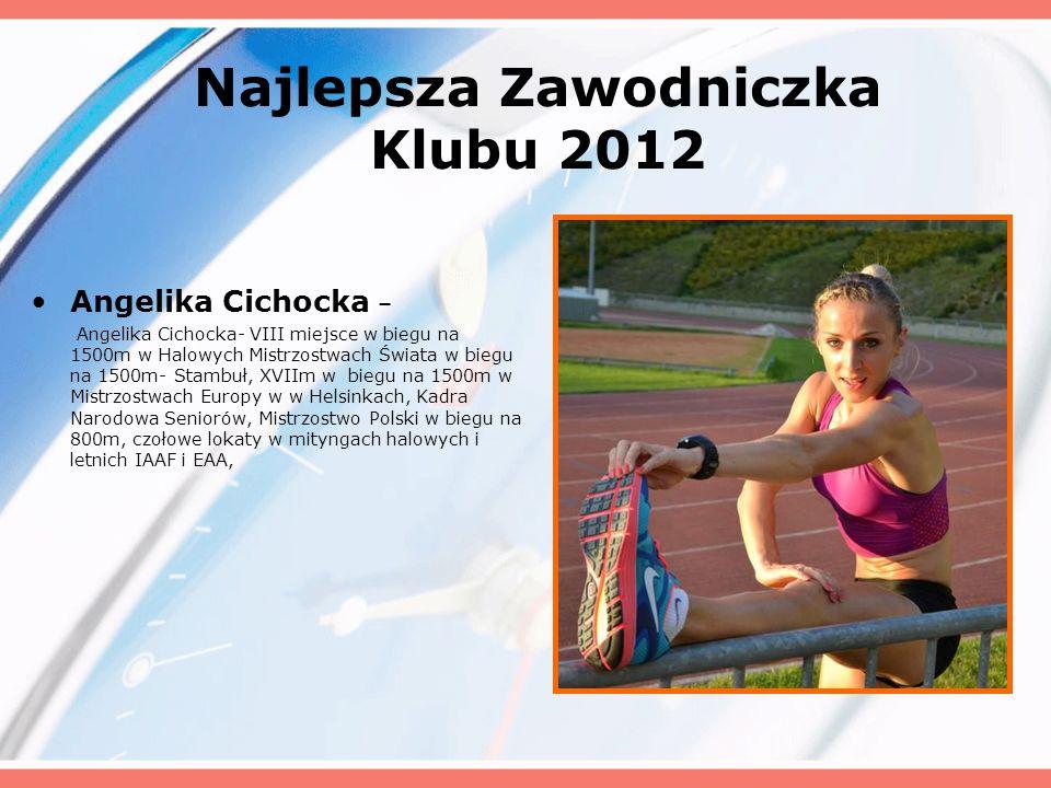 Najlepsza Zawodniczka Klubu 2012
