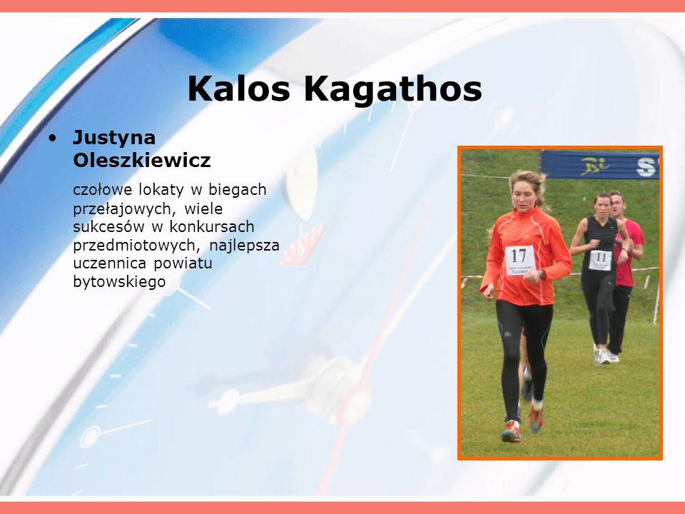 Kalos Kagathos Justyna Oleszkiewicz
