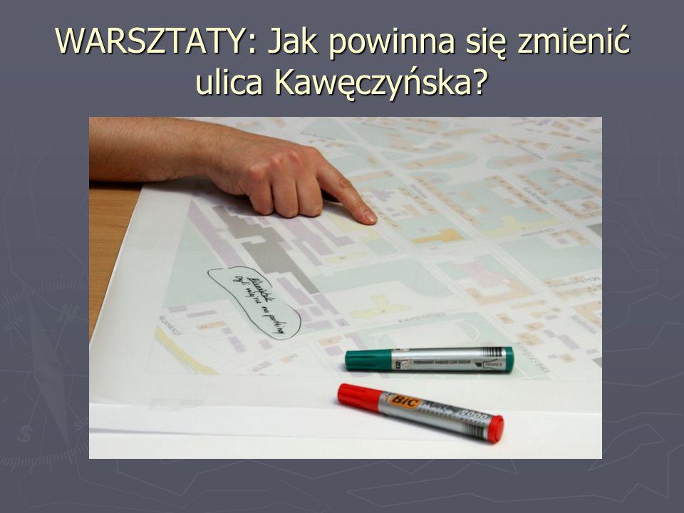 WARSZTATY: Jak powinna się zmienić ulica Kawęczyńska