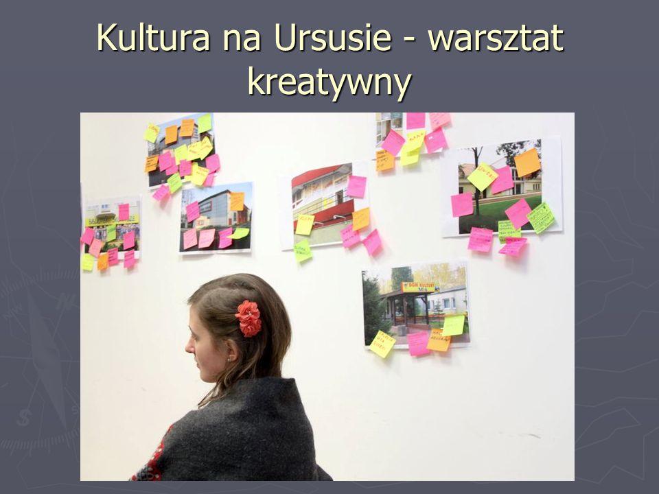 Kultura na Ursusie - warsztat kreatywny