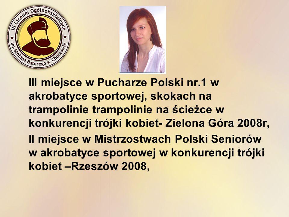 III miejsce w Pucharze Polski nr