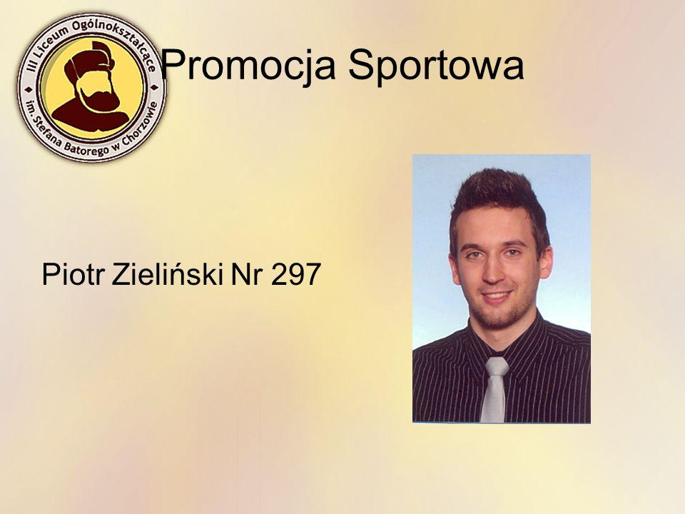 Promocja Sportowa Piotr Zieliński Nr 297