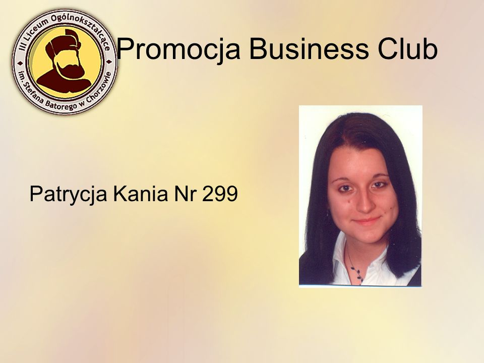 Promocja Business Club