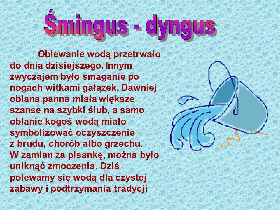 Śmingus - dyngus