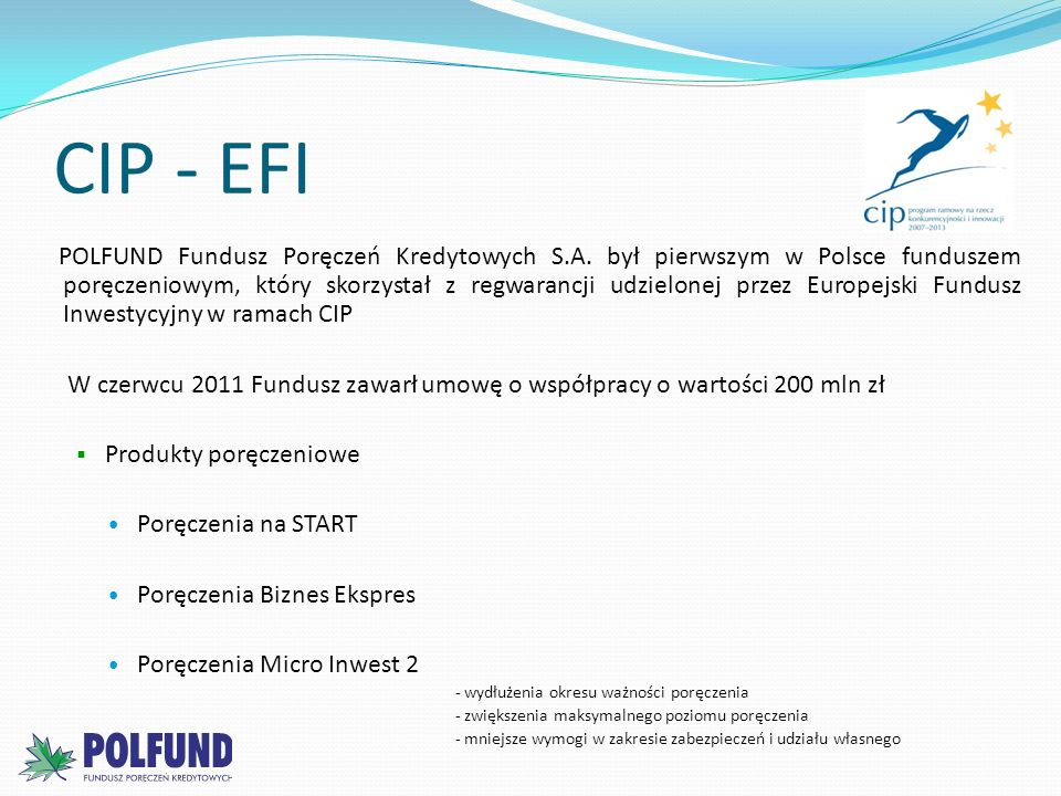 CIP - EFI