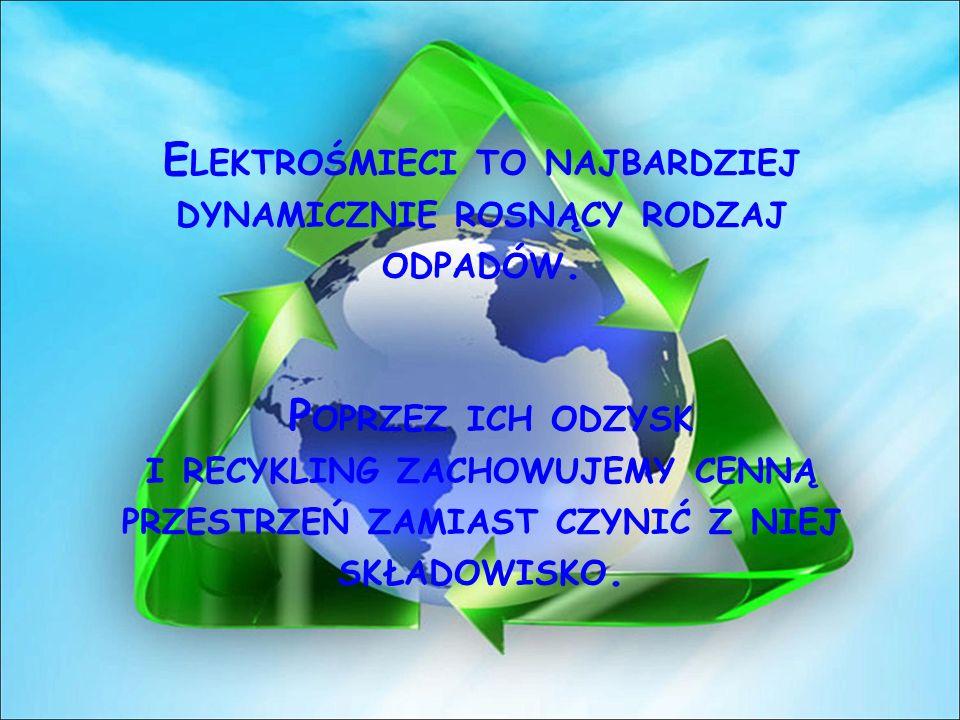 Elektrośmieci to najbardziej dynamicznie rosnący rodzaj odpadów