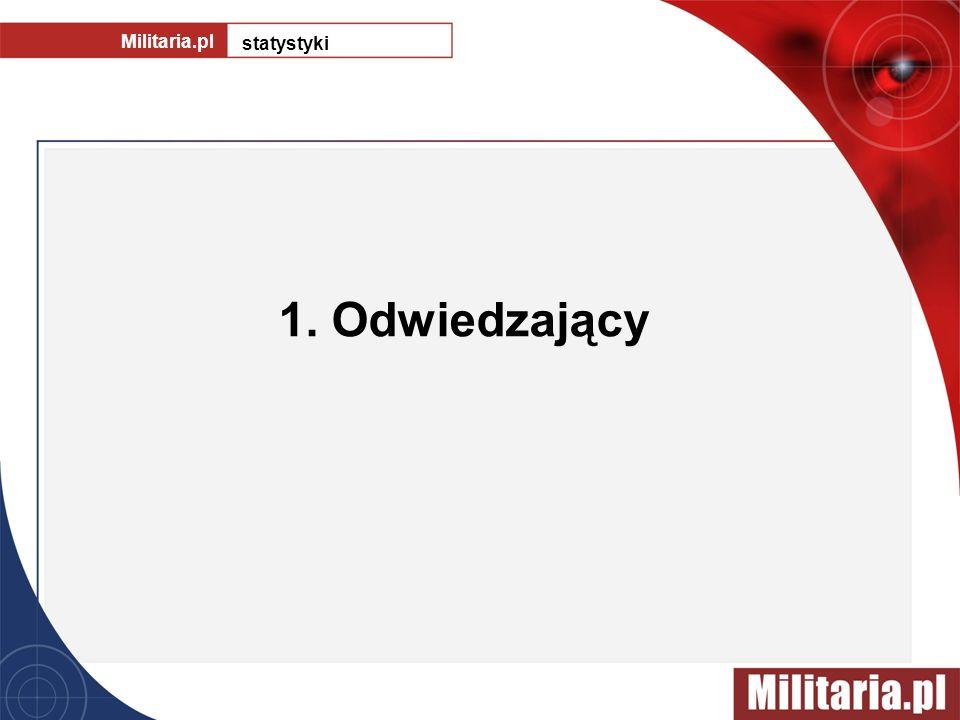 Militaria.pl statystyki 1. Odwiedzający
