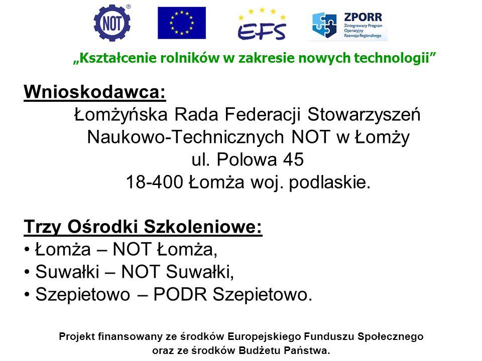 Łomżyńska Rada Federacji Stowarzyszeń Naukowo-Technicznych NOT w Łomży