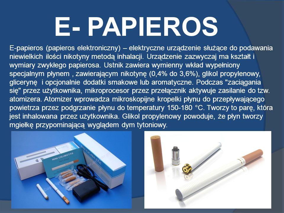 E- PAPIEROS