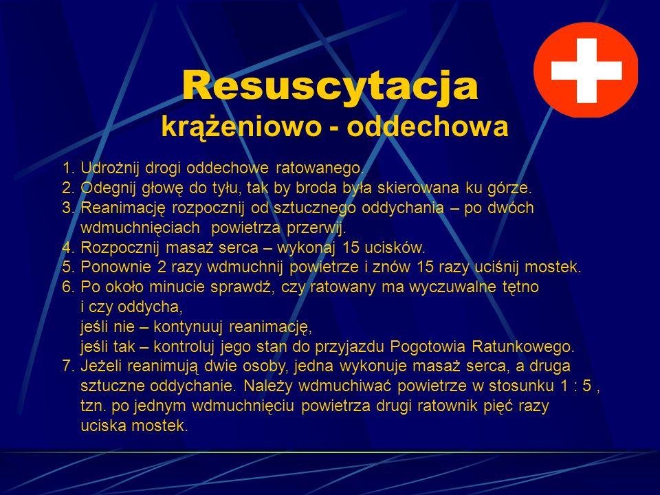 Resuscytacja krążeniowo - oddechowa