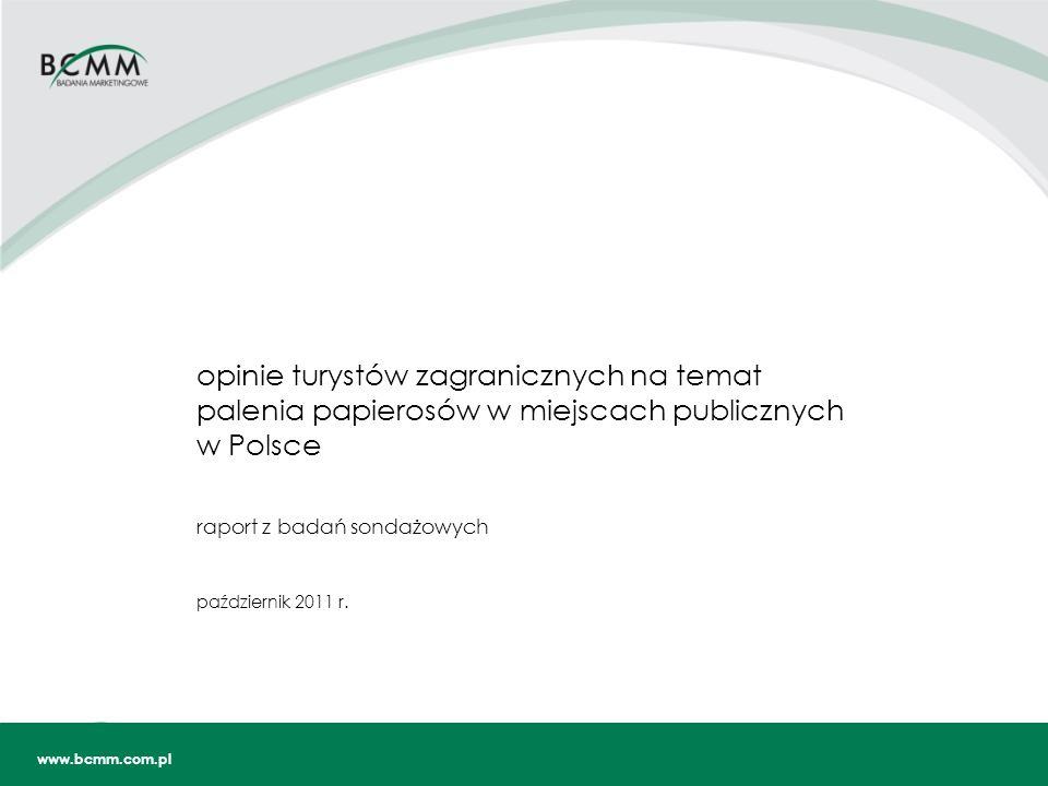 raport z badań sondażowych październik 2011 r.