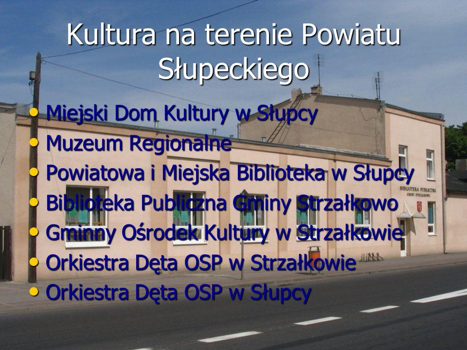 Kultura na terenie Powiatu Słupeckiego