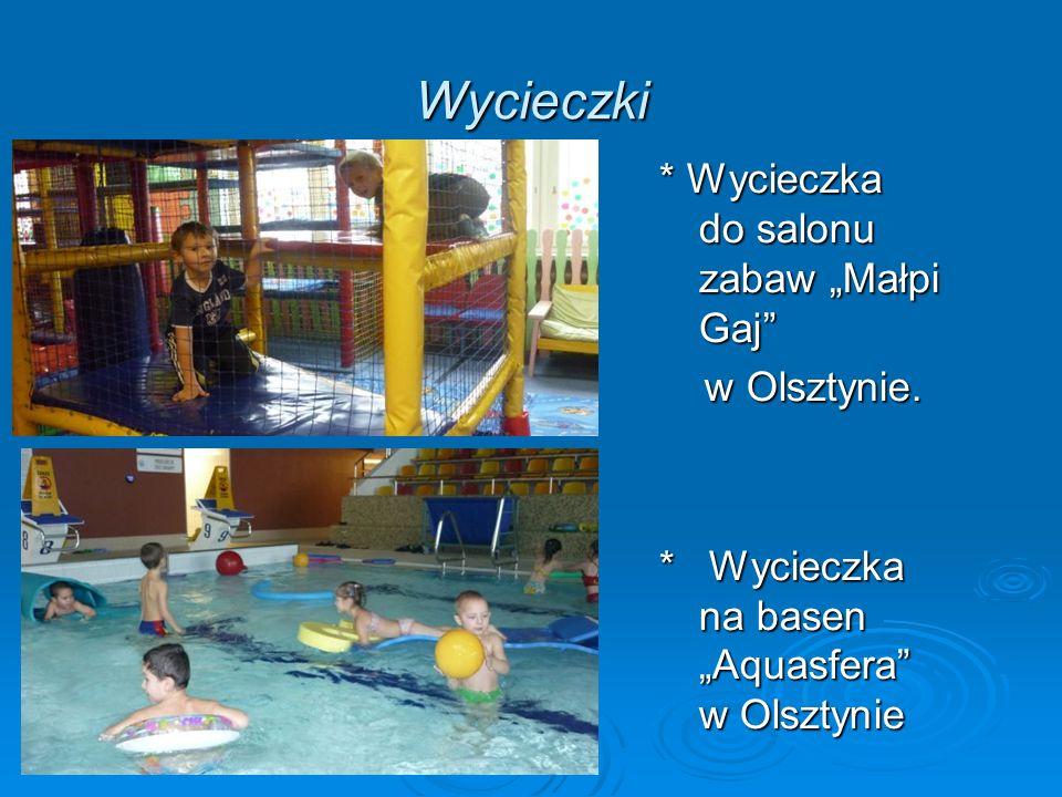 """Wycieczki * Wycieczka do salonu zabaw """"Małpi Gaj w Olsztynie."""