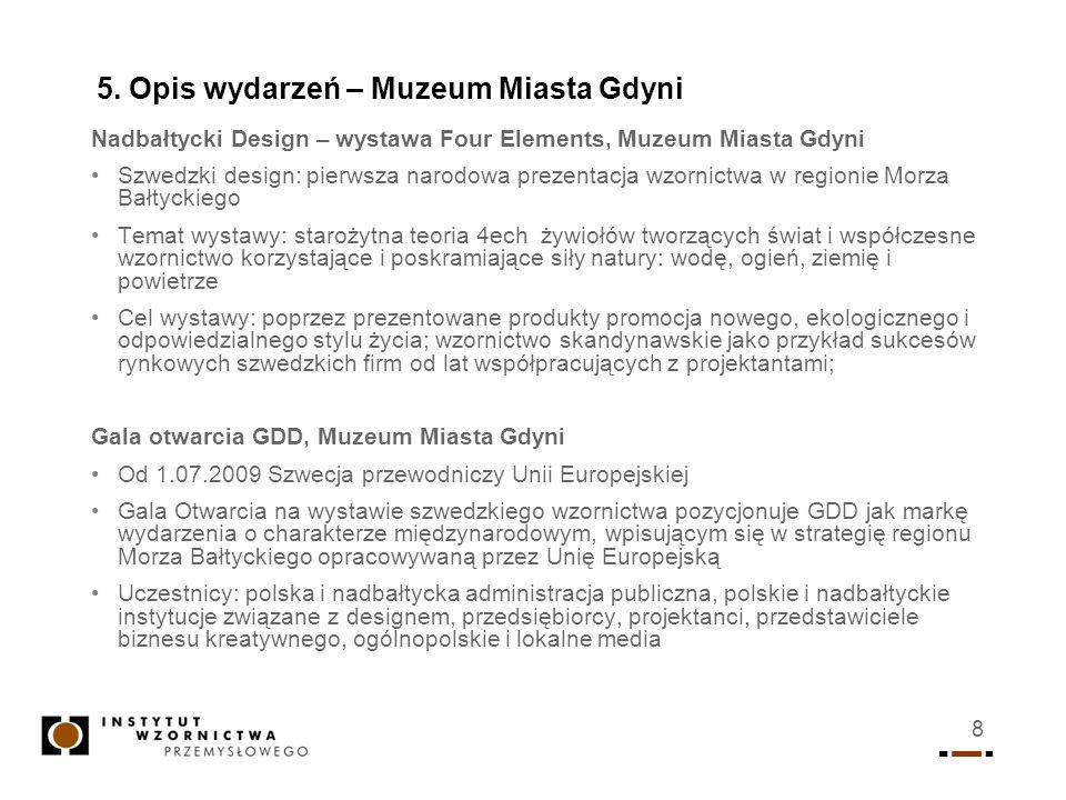 5. Opis wydarzeń – Muzeum Miasta Gdyni