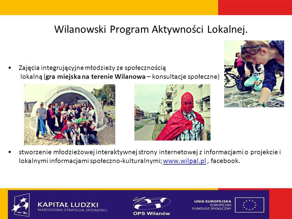 Wilanowski Program Aktywności Lokalnej.