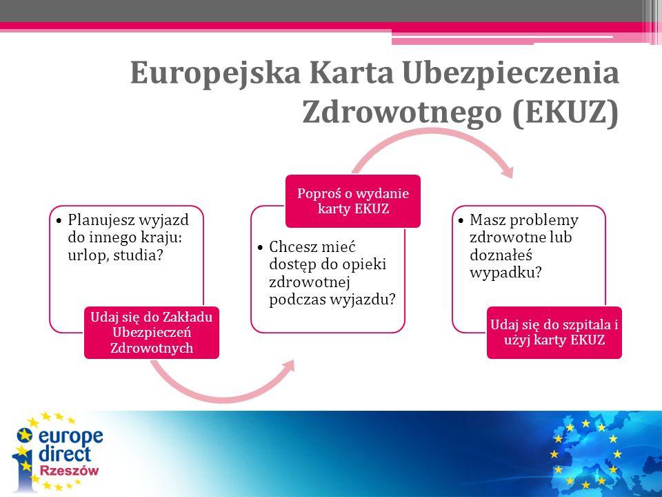 Europejska Karta Ubezpieczenia Zdrowotnego (EKUZ)