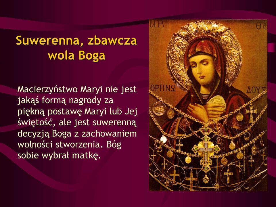 Suwerenna, zbawcza wola Boga
