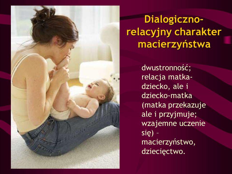 Dialogiczno-relacyjny charakter macierzyństwa