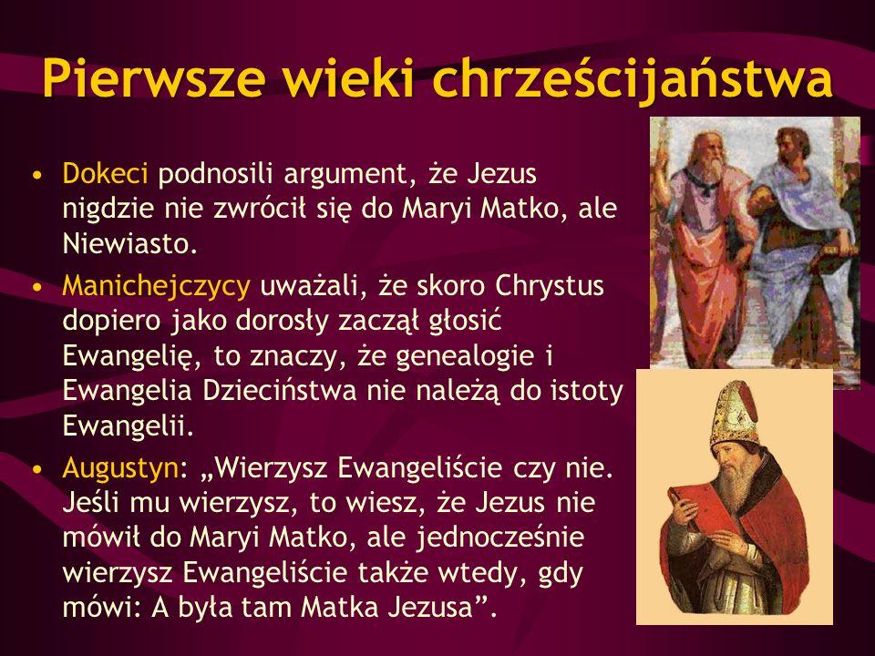 Pierwsze wieki chrześcijaństwa
