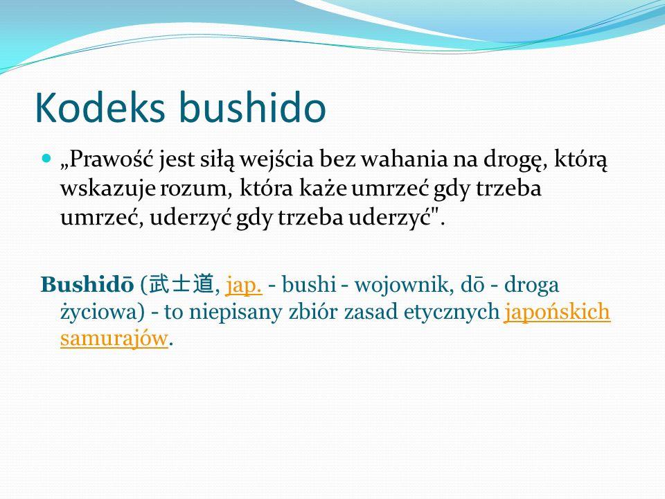 Kodeks bushido
