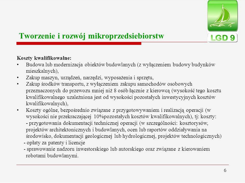 Tworzenie i rozwój mikroprzedsiebiorstw